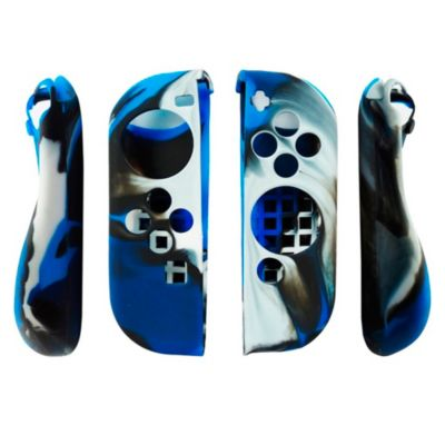 Silicona Joy-Con Camuflado Azul