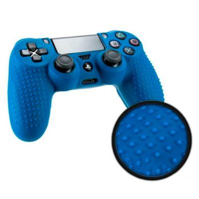 Funda Silicona Mando para PS4 Azul