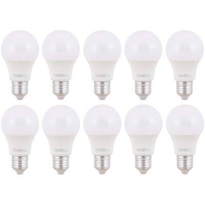 Pack x10 Foco LED 8.5W Luz Cálida