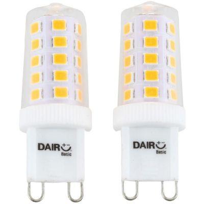 Pack x2 Foco LED Bulbo Dicroico 3.5W G9 Luz Amarilla
