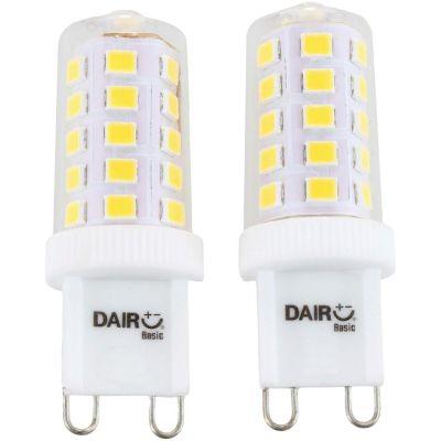Pack x2 Foco LED Bulbo Dicroico 3.5W G9 Luz Blanca