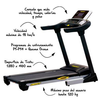 Trotadora de Uso Residencial Best Fitness Orión 2.0