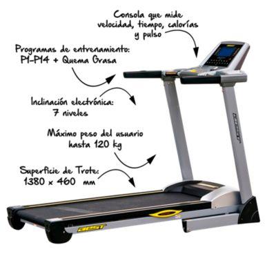 Trotadora de Uso Residencial Best Fitness Cetus 2.0