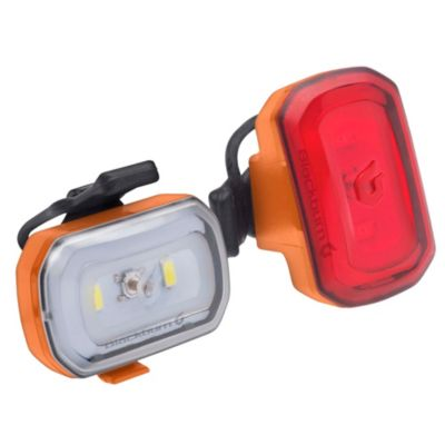 Set de 2 Luces Blackburn Click USB Naranja