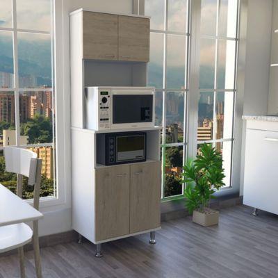 Mueble de Cocina Kitchen Blanco / Rovere