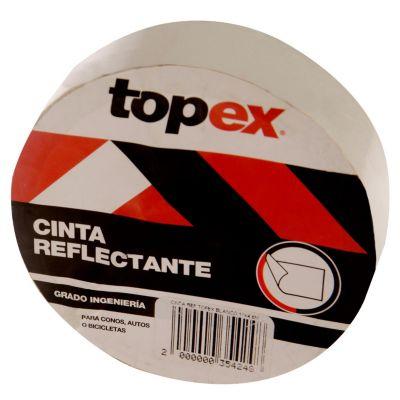 Cinta ref topex blanco 1x4.6m