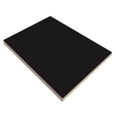 Tablero MDF Negro 2.8mm 1.85x2.44m