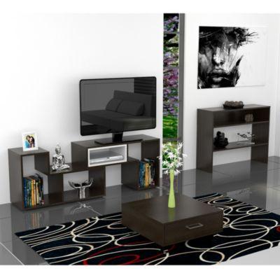 """Mesa TV Beiging 40"""" + Mesa de Centro + Arrimo"""