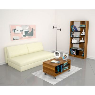 Biblioteca 10 Repisas + Mesa de Centro Classic