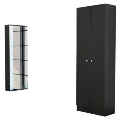 Closet 2 Puertas + Zapatero Leto 1 Cajón