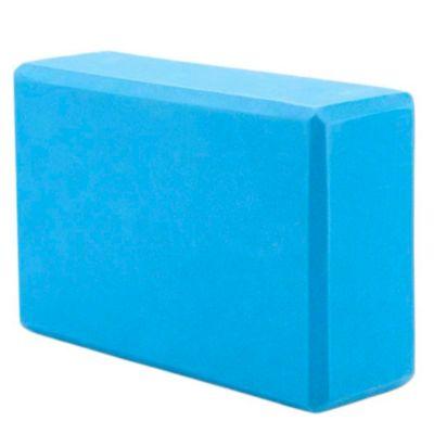 Ladrillo de Espuma Yoga Azul