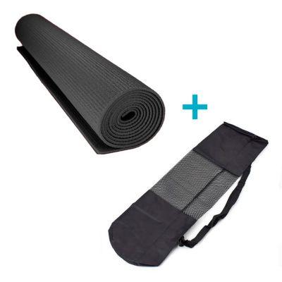 Colchoneta Fitness 6mm Negro
