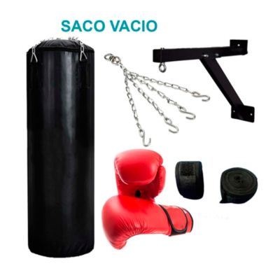 Set Saco Box Vacío 1.20m con Accesorios