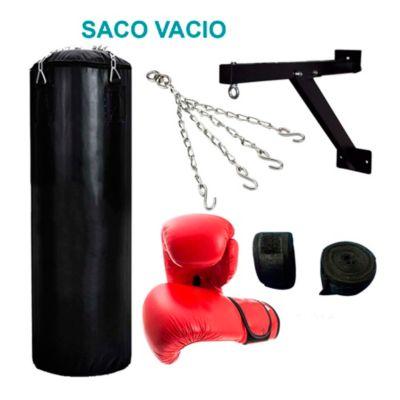 Set Saco Box Vacío 1.50m con Accesorios