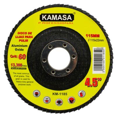 Disco de Lija para Pulido Grit 60 4.5''