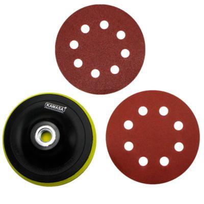 Juego de Discos con Velcro y Lijas 11.5cm