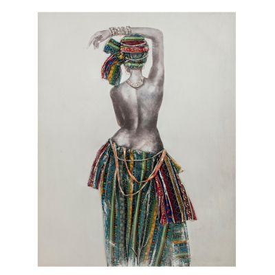 Canvas Africana Danza 90x120cm