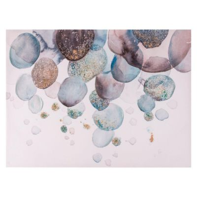 Canvas Burbujas Abstractos 80x60cm