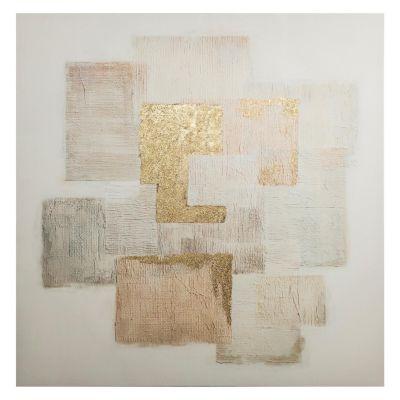 Canvas Bloques Abstractos 80x80cm
