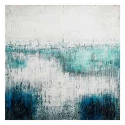 Canvas Océano Abstracto 80x80cm