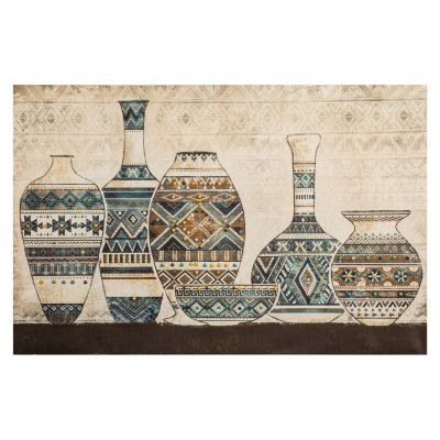 Canvas Jarras África 90x60cm