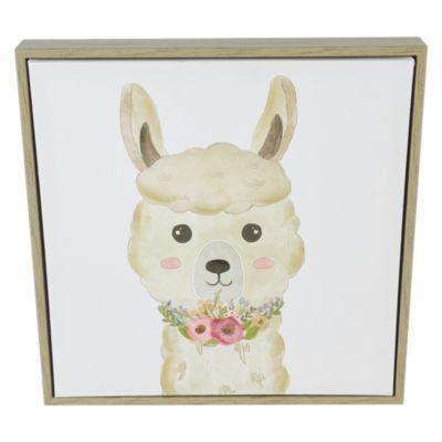 Cuadro Canvas Llama Kid 32x32cm
