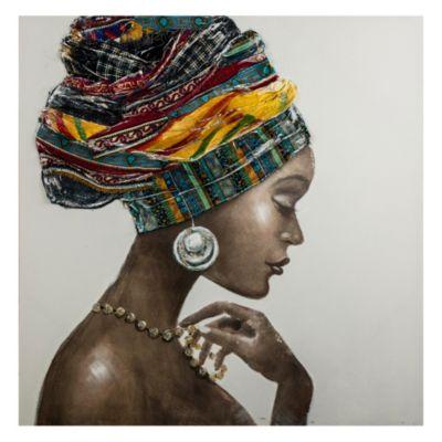 Canvas Africana 1 100x100cm