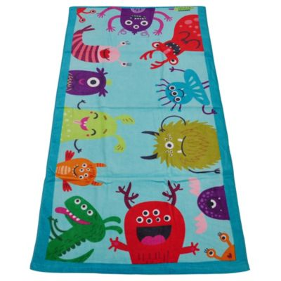 Toalla de Playa Monsters 70x140cm