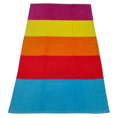 Toalla de Playa Rainbow 75x150cm