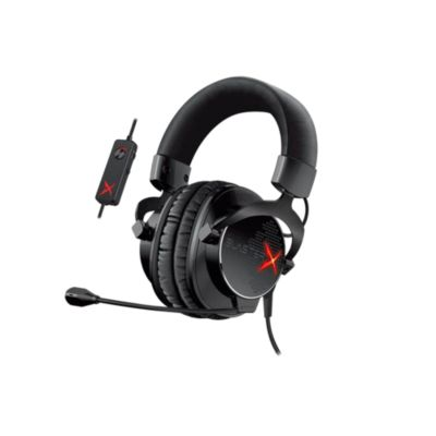 Audífonos con Micrófono Gaming H5 Tournament SBX Negro