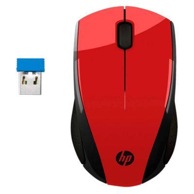 Mouse X3000 Inalámbrico RF Rojo 2HW69AA#ABL