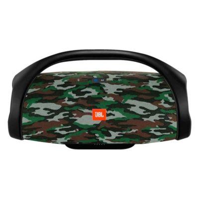 Parlante Bluetooth Portátil Boombox Camuflaje
