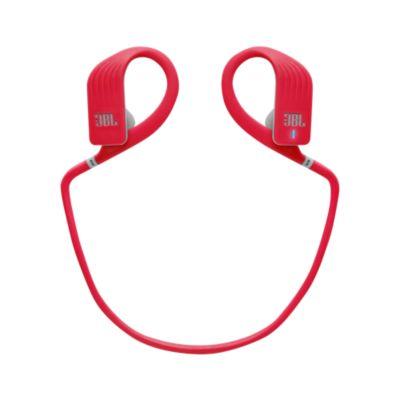 Audífonos Inalámbricos a Prueba de Agua Color Rojo JBLENDURJUMP
