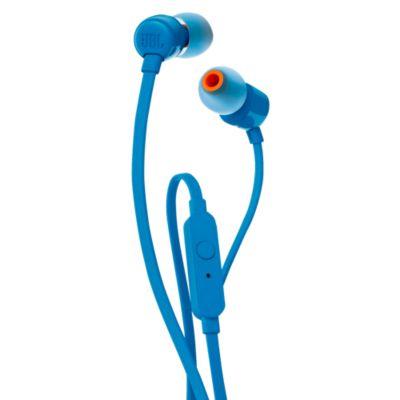 Auriculares Internos con Micro en Oreja T110 Azul