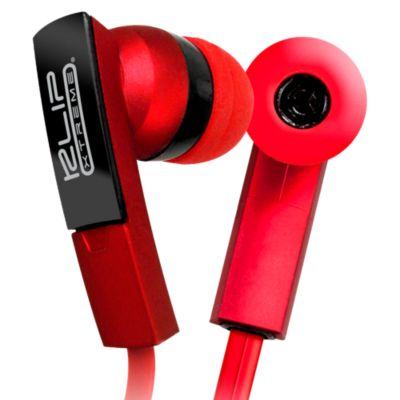 Audífonos con Micrófono BeatBuds Rojo KHS-220