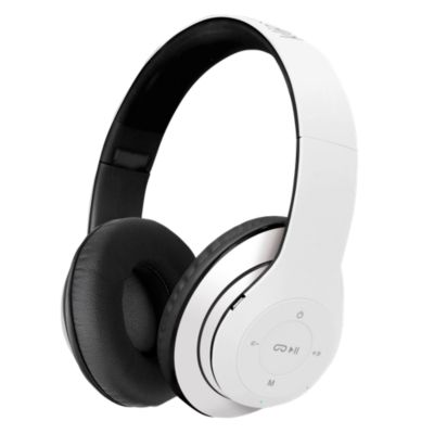 Auriculares Bluetooth Pulse Auriculares Blanco