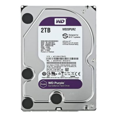 Disco Duro 2TB Púrpura 64MB