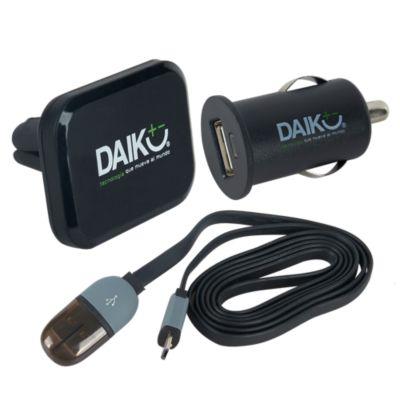 Holder + Cargador USB para Auto