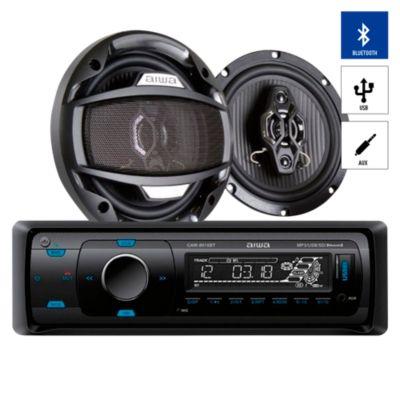 Autoradio Bluetooth/USB/AUX + 2 Parlantes CAW-8016BT