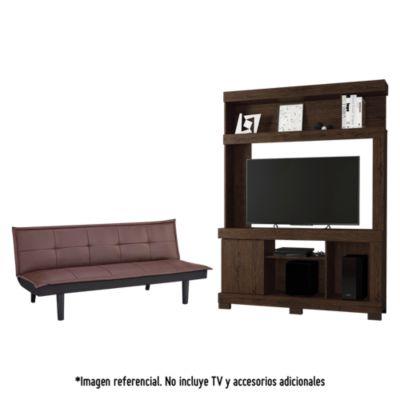 "Combo Futón Havanna + Centro de TV Lara 50"""