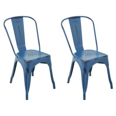 Set x2 Sillas Tolix Azul