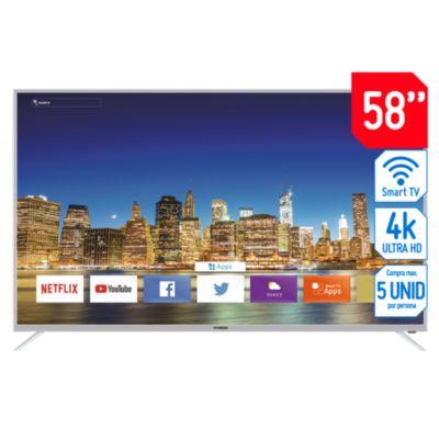 Televisor Smart LED UHD 58'' HYLED5804N4KM