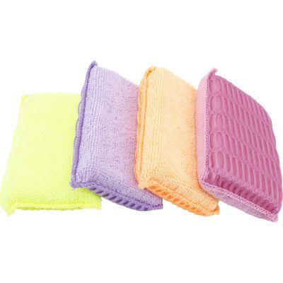 Set 4 Esponjas Microfibra