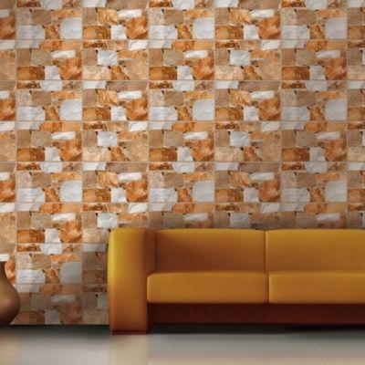Cerámica Krupa Beige Con Relieve 27x45cm para piso o pared