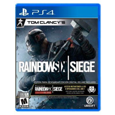 Tom Clancy's Rainbow Six Siege Edicicion Deluxe para PS4