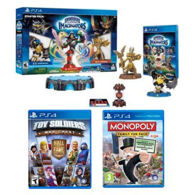 Monopoly-Skylanders-Toy Solder para PS4