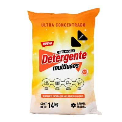 Detergente en Polvo Industrial 15kg