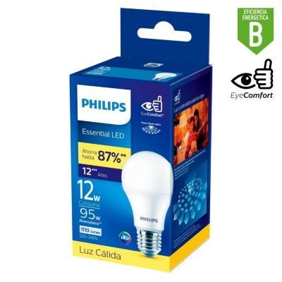 Foco Led Bulb 12W E27 Luz Cálida