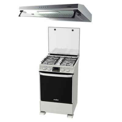 Combo Campana CMU6020PI0 + Cocina CME6090CFIYX