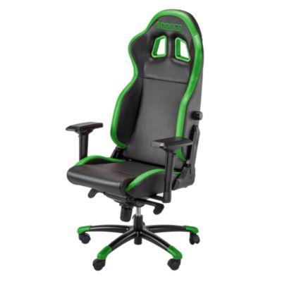 Silla Gaming Grip Negro y Verde